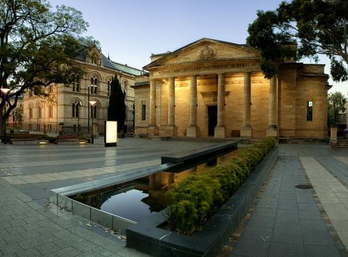 Art Gallery of South Australie in Adelaide Foto:Kajinoz