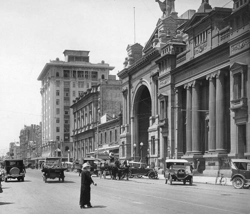 Adelaide in 1935 Foto:State Library of SA