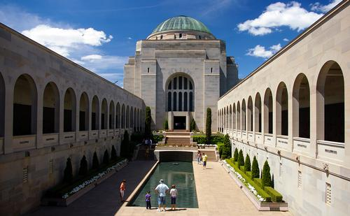 Australian War Memorial in Canberra Foto:Bidgee