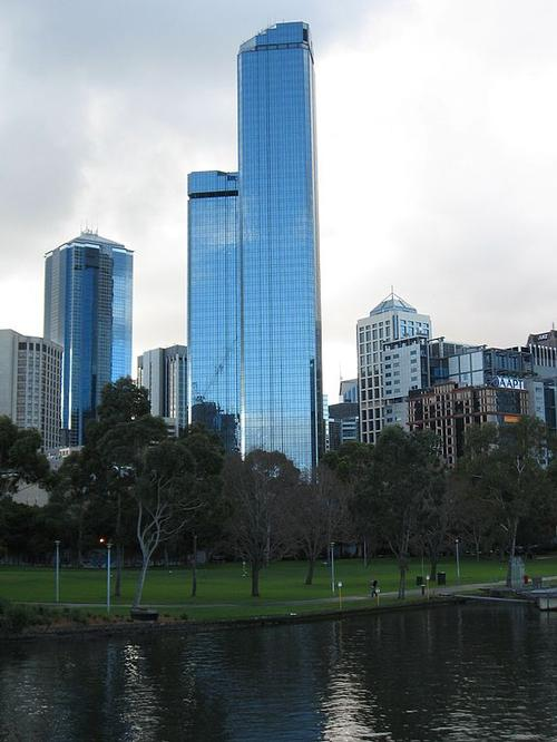 Rialto Towers in Melbourne Foto:Papphase