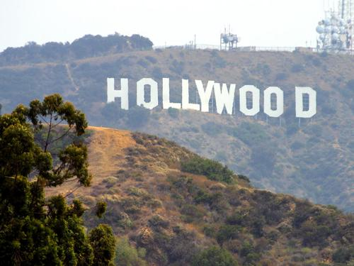 LOs Angeles Hollywood Foto:Publiek Domein