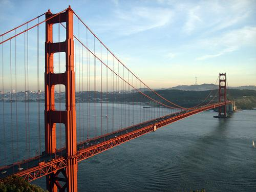 Golden Gate Bridge San Francisco Foto:Rich Niewiroski Jr.