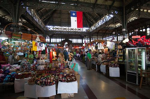 Mercado Central Santiago