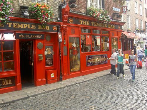 Dublin Temple Bar Foto:Cotton