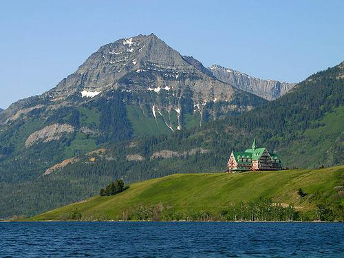Prince of Wales Hotel in Waterton Lakes National Park, Alberta Foto:Jon Sullivan