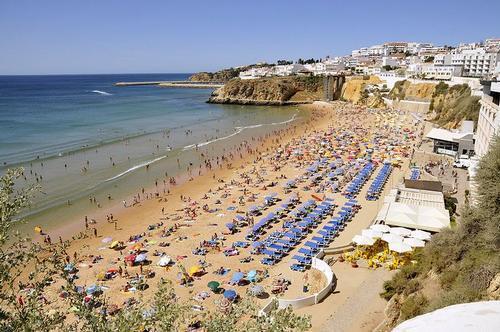 Algarve strand van Albufeira