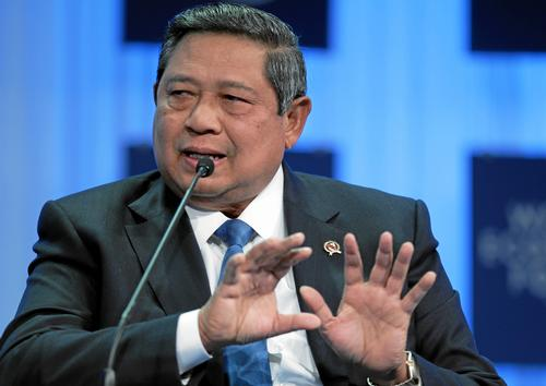 Indonesie Susilo Bambang Yudhoyono Foto:World Economic Forum