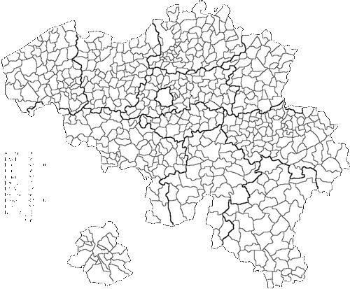 Oost Vlaanderen Gemeenten Vlaanderen 308 Gemeenten