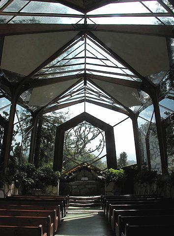 Wayfarers Chapel, Los Angeles, Californië