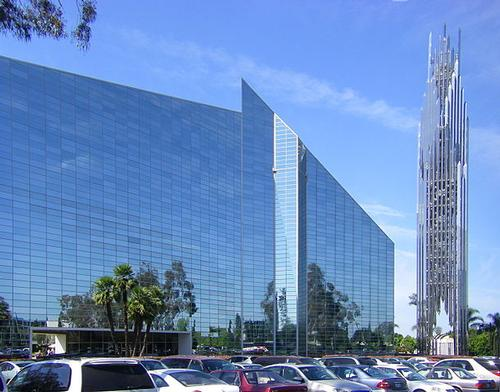 Crystal Church, Graden Grove, Californië