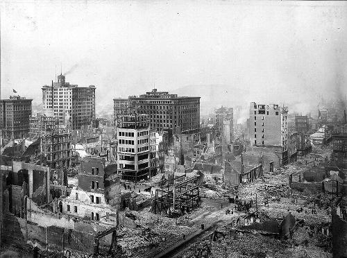 Californië, San Francisco Great Earthquake 1906