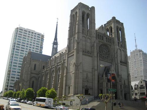 Grace Cathedral, San Francisco, Californië
