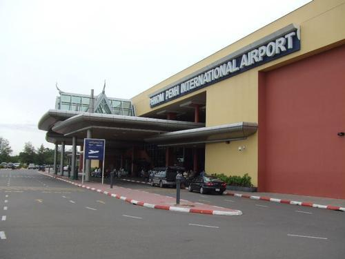 Cambodja Phnom Penh International Airport Foto:Chikumaya