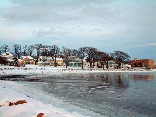 Winter in Charlottetown, Canada foto: publiek domein