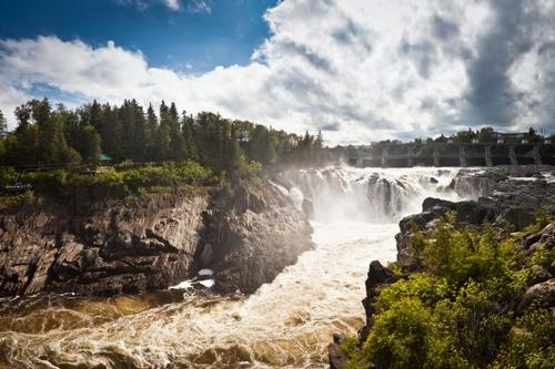 Grand Falls, New Brunswick foto: Benson Kua