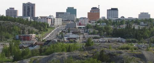 Skyline Northwest-Territories Yellowknife foto: Trevor MacInnes