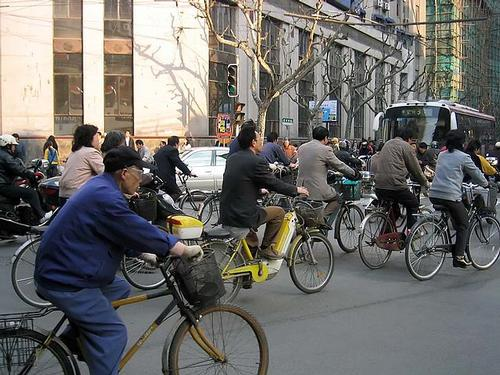 China Beijing Fietsen foto: (WT-shared) Peirz at wts wikivoyage