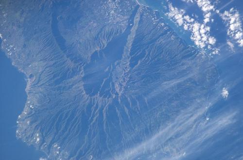 La Palma Satellietfoto foto: NASA