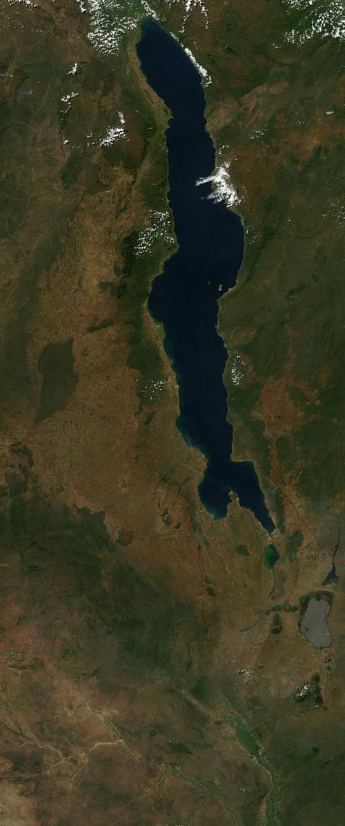 Malawi Satellietfoto foto: NASA