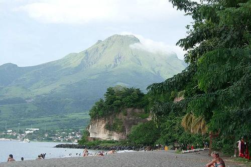 Mount Pelée, hoogste berg van Martinique