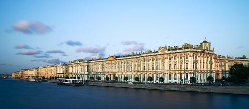 Hermitage in Sint-Petersburg