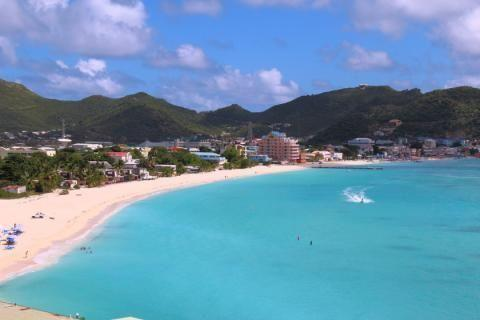 Philipsburg en de Great Bay, Sint Maarten