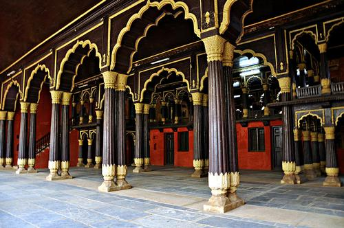 Tipu Sultan's Summer Palace Bangalore