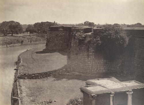Bangaloe Fort in 1860