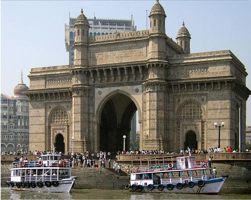 Gateway to India in Mumbai Foto:Rhaessner