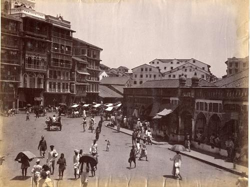 Mumbai in 1890 Foto:John Mitchell Holms