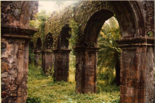 Ruins of a Portuegese Fort in Mumbai
