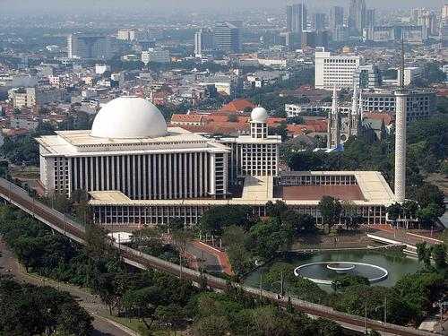 Istiqlal Moskee in Jakarta