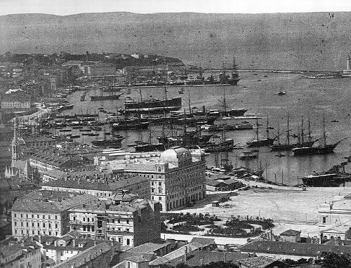 Triest in 1885