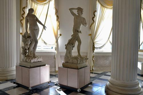 Sculpturen van Canova in Museo Correr