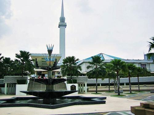 Nationale Moskee in Kuala Lumpur