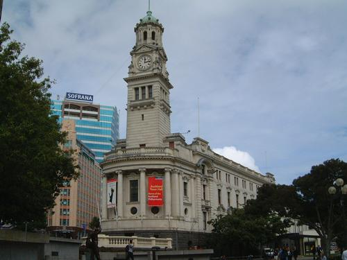 Town Hall in Auckland New Zealand