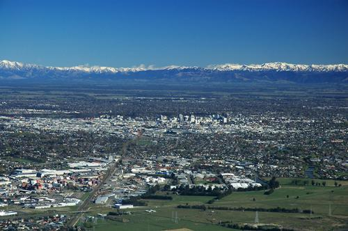 Christchurch Panorama Foto:P. Stalder