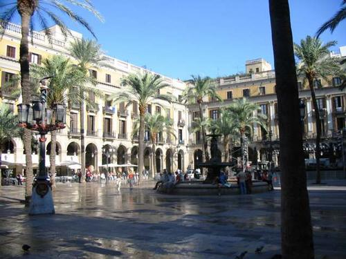 Stedentrip Barcelona Plaza Real