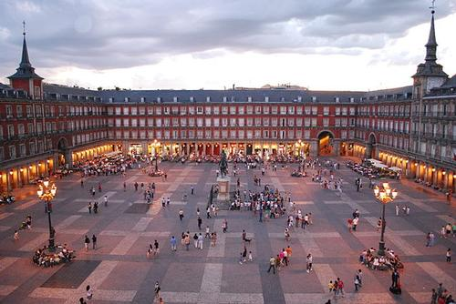 Plaza Mayor Madrid Foto:Sebastian Dubiel