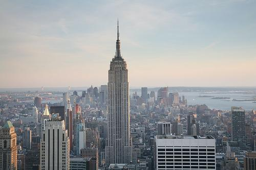 New York Empire State Building Foto:Daniel Schwen