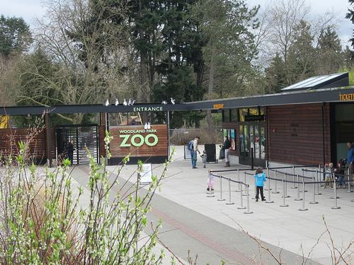 Woodland Parl Zoo in Seattle
