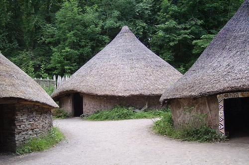 Celtic Village Museum of Welsh Life Cardiff
