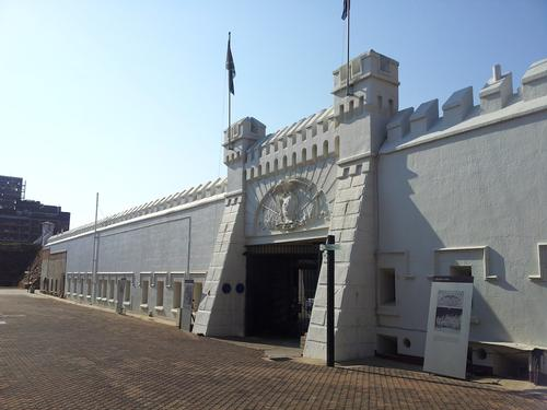 Oude fort op Constitution Hill Johannesburg Foto:The Heritage Portal